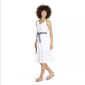 Vineyard Vines Dresses - Vineyard Vines Target White Dress Size Large